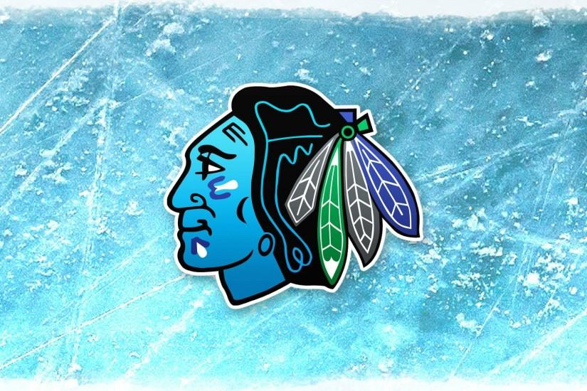 Chicago Bluehawks. My Blackhawks logo remix. Available as Wallpaper or  Print (links in comments) ...