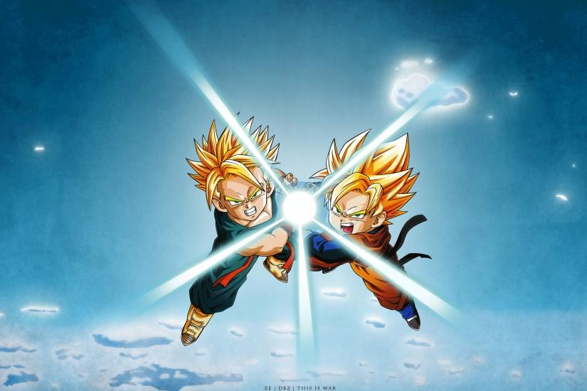 Download Dragon Ball Teamwork Google Skins Wallpaper 2560x1600 | Full .