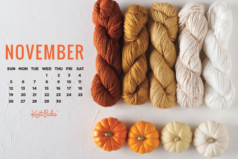 Free Downloadable November Calendar