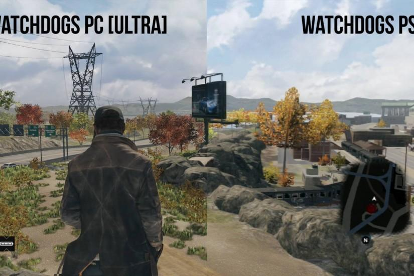 Watch_Dogs pc vs. ps3 (thank you based Austin Evans) ( i.imgur