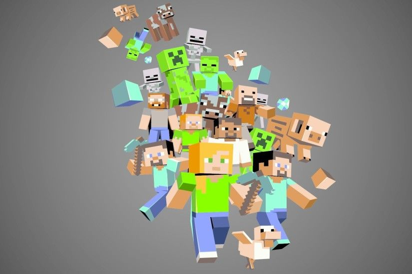 Videospel - Minecraft Wallpaper
