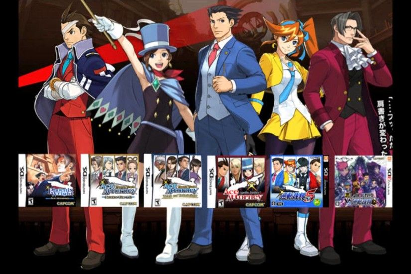 Ace Attorney Music Compilation: Courtroom Lounge [Version 1] 2013 - YouTube