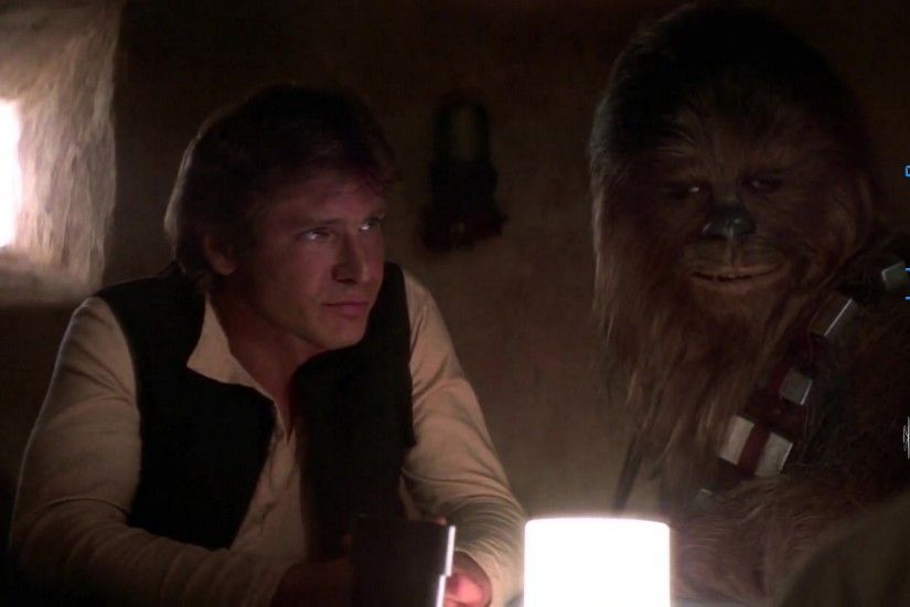 Star Wars Episode 4 Han Solo And Chewbacca 001