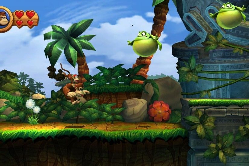2880x1800 Donkey Kong Country: Tropical Freeze [3] wallpaper