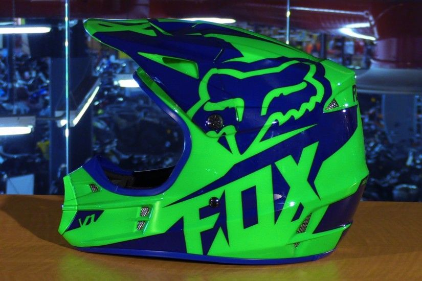 Fox Racing 2016 V1 Race Motorcycle Helmet Review | DRN: Motocross,  Supercross & Off-Road : Since 1999