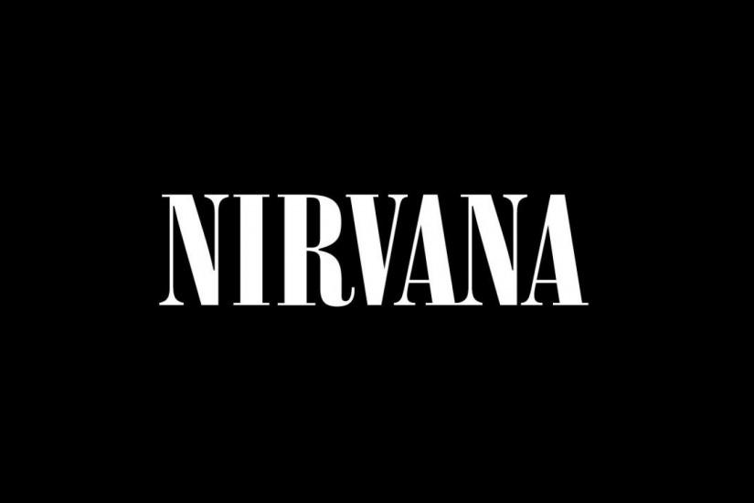 Preview wallpaper nirvana, sign, font, background, letters 3840x2160