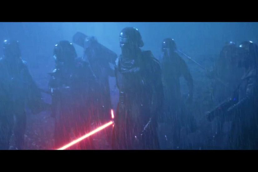 Can anyone make this wallpaper worthy? Kylo Ren and his entourage from  Episode 7's third trailer.