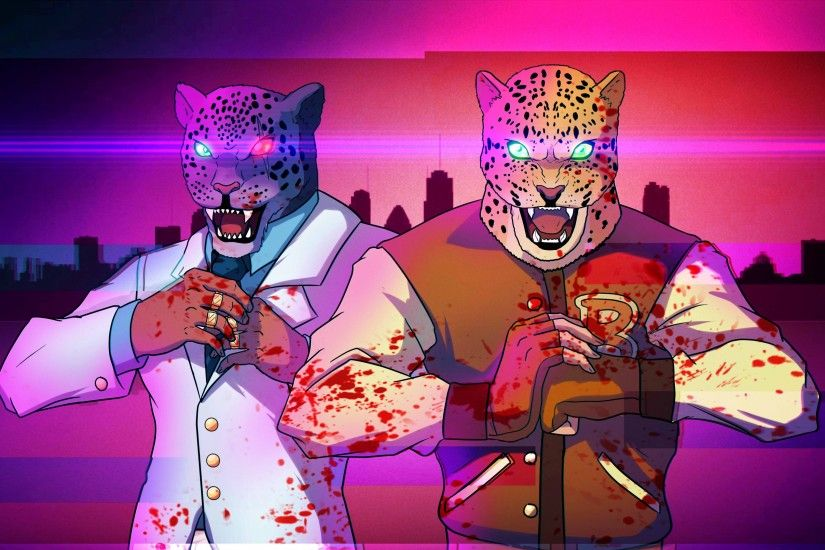 Preview wallpaper tekken, hotline miami, armor king 3840x2160