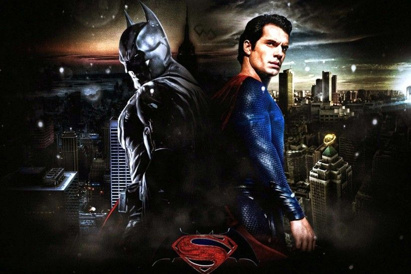 Batman and superman movie wallpaper