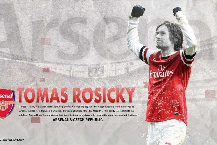 Tomas Rosicky Arsenal Wallpaper HD 2014 . Again