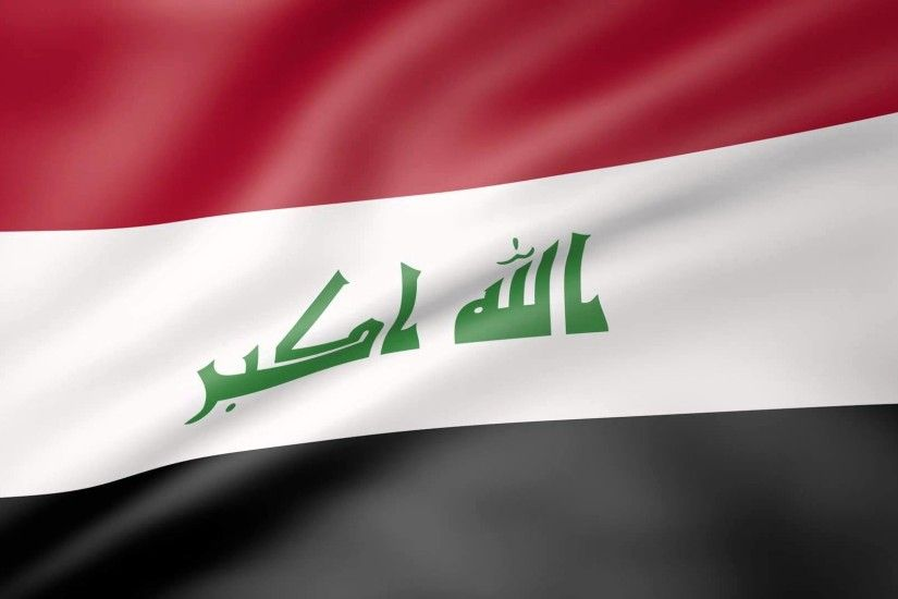 Iraq Flag Animated Wallpapers