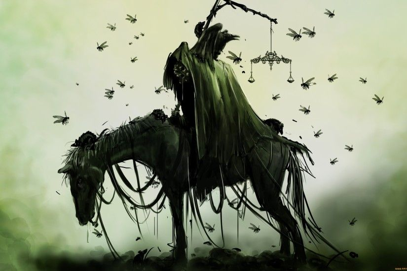 Grim Reaper On Horse Wallpapers Free