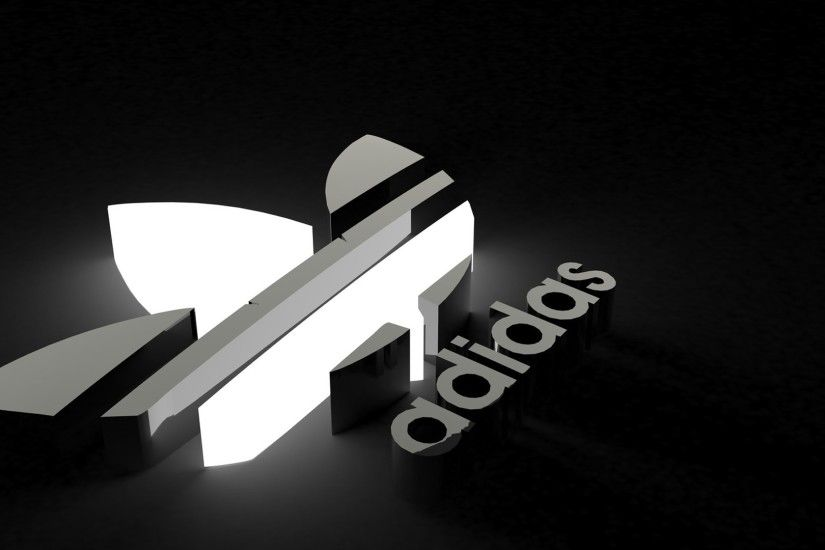 Download Logo Adidas 3D Sports Wallpapers Full Size