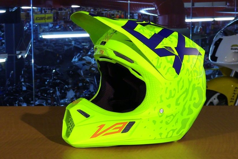 Fox Racing 2016 V3 Cauz Motorcycle Helmet Review | DRN: Motocross,  Supercross & Off-Road : Since 1999