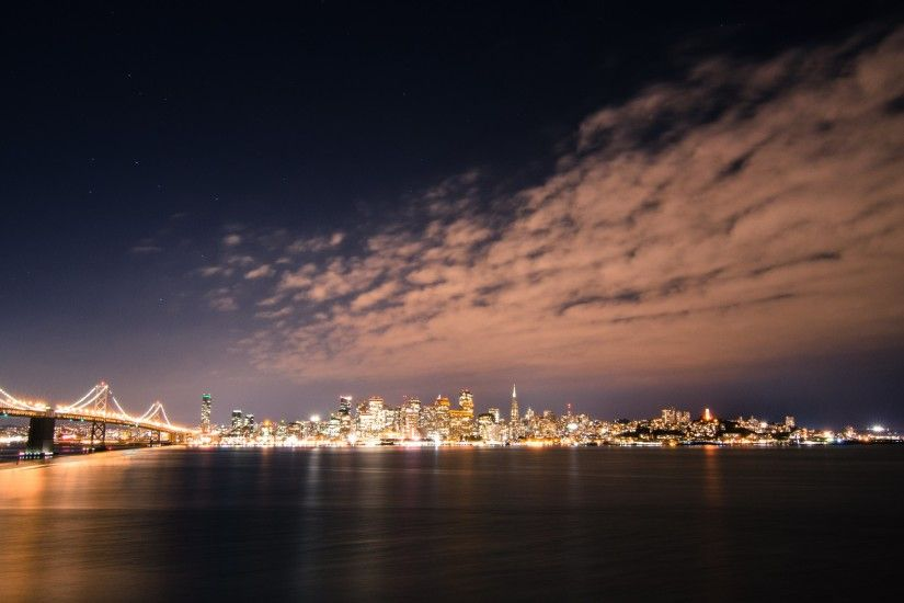 San Francisco Skyline by Night HD Wallpapers. 4K Wallpapers