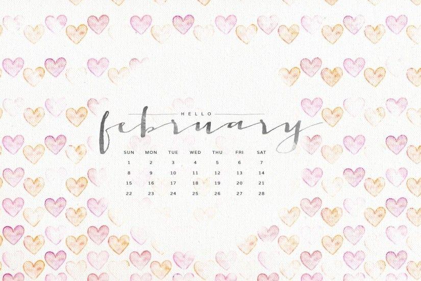 Macbook Wallpaper Calendar : Desktop wallpapers calendar february ·①