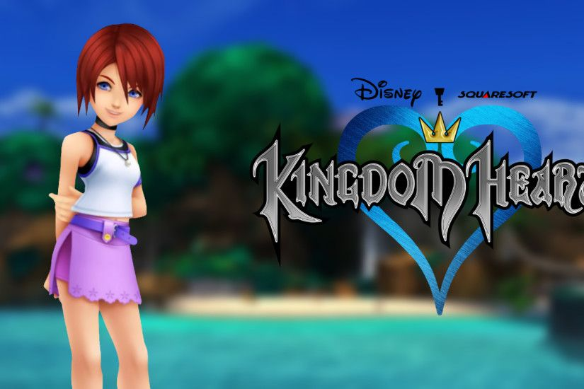 ... Kingdom Hearts Wallpaper - KH1 Kairi by TheWolfGalaxy