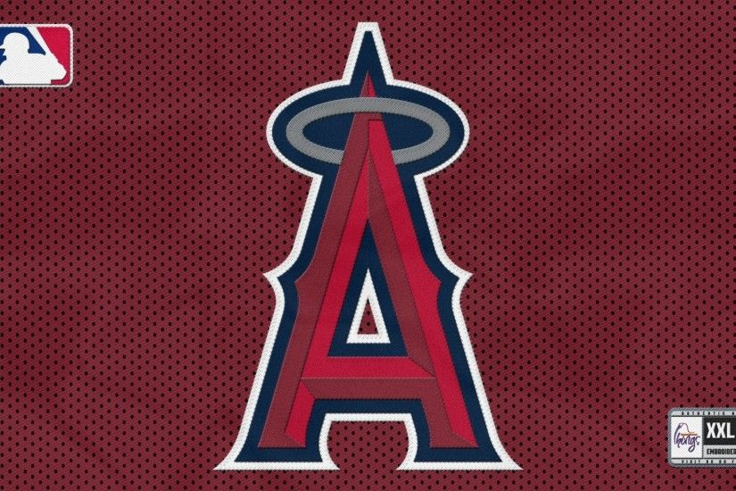 ... Los Angeles Angels of Anaheim Wallpaper for Dekstop with Mlb Logo ...