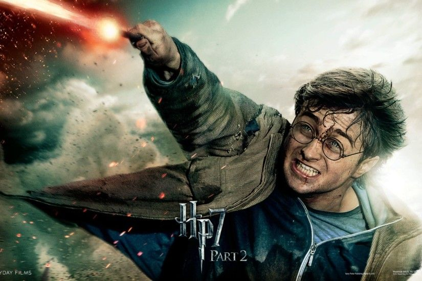 Harry Potter in Deathly Hallows Part 2 Wide Wallpaper