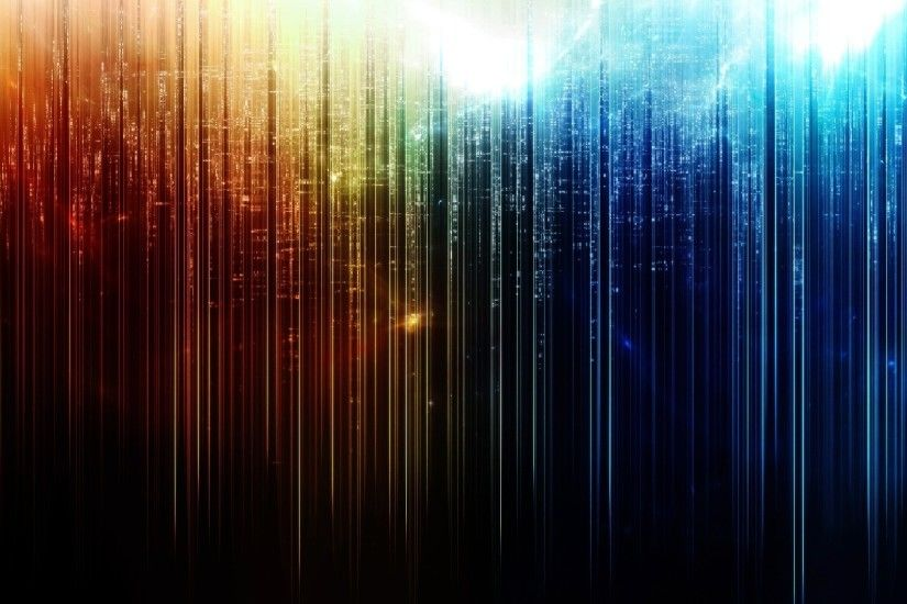 1920x1080 Wallpaper line, multi-colored, vertical, light