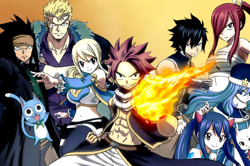 Anime - Fairy Tail Lucy Heartfilia Natsu Dragneel Wendy Marvell Erza  Scarlet Gray Fullbuster Charles (
