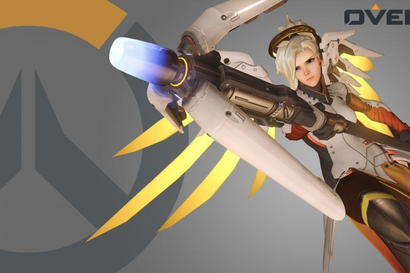 mercy overwatch wallpaper 3440x1440 high resolution