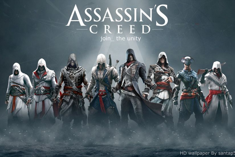 ... Assassin's Creed HD wallpaper by teaD by santap555