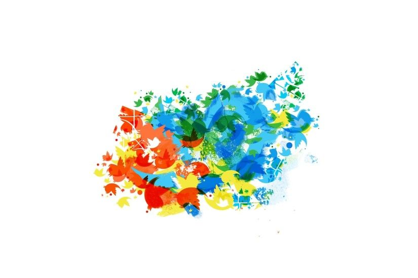Twitter Colors wallpapers and stock photos