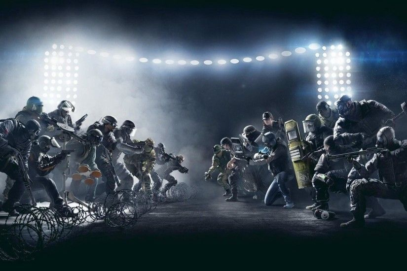 Wallpaper Tom Clancys Rainbow Six Siege Pro League game shooter