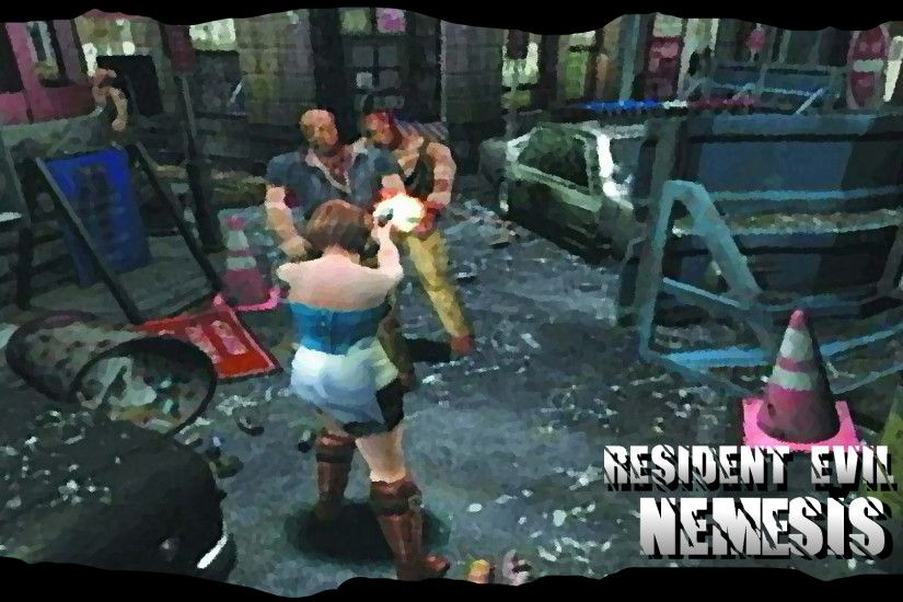 Resident Evil 3 Wallpaper by dakotaatokad Resident Evil 3 Wallpaper by  dakotaatokad