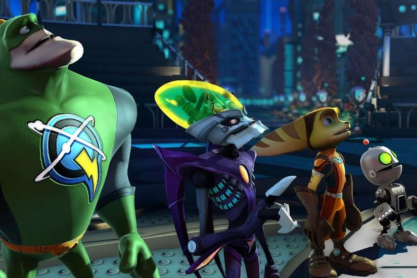 Ratchet & Clank: All 4 Ready For Action Wallpaper