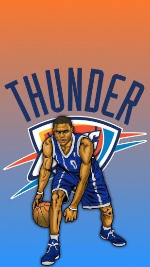 Made a Russell Westbrook wallpaper!