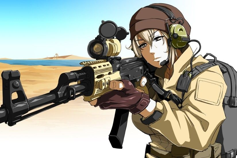 Anime Girls With Guns 910714