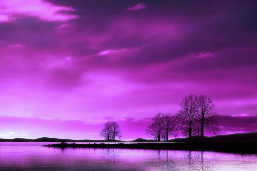 beautiful purple scenery HD wallpapers