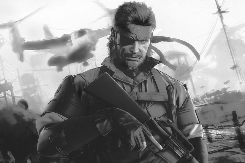 Metal Gear Big Boss Wallpaper - WallpaperSafari