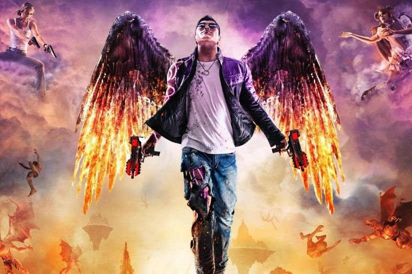 desktop wallpaper for saints row gat out of hell