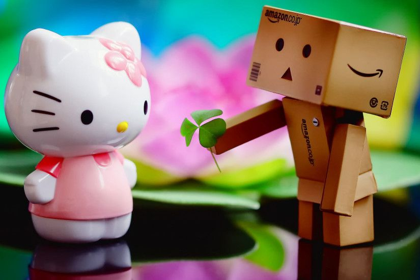 hd pics photos love you kitty robo hello kitty desktop background wallpaper