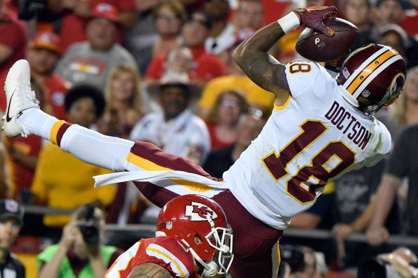 Drop or not, Josh Doctson needs to play more for the Redskins | NBC Sports  Washington