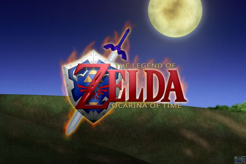 ... Ocarina of Time HD Wallpaper by BLUEamnesiac