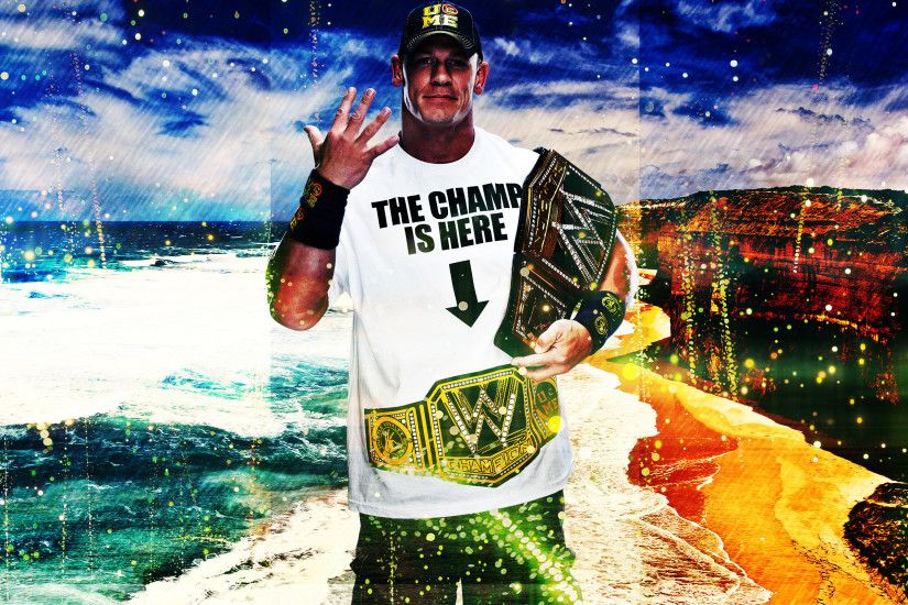 ... John Cena HD Wallpaper !!!!!!! by menasamih