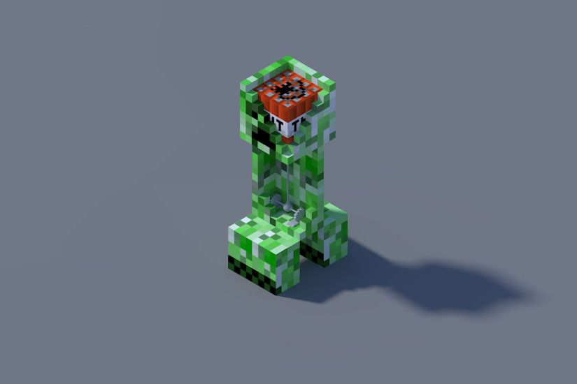Minecraft Creeper HD Wallpapers | Backgrounds