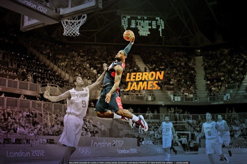 Slam dunk nba basketball lebron james championship miami heat . 2560x1440