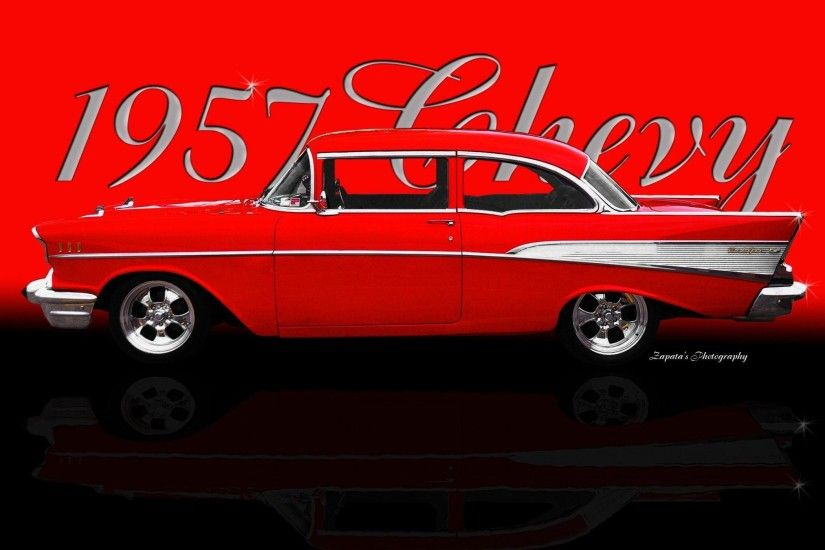 view image. Found on: 57-chevy-wallpaper