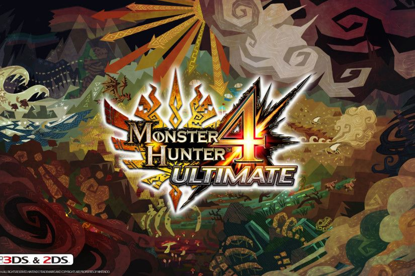Monster Hunter 4 Ultimate Wallpaper