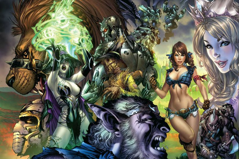 grimm fairy tales wallpaper