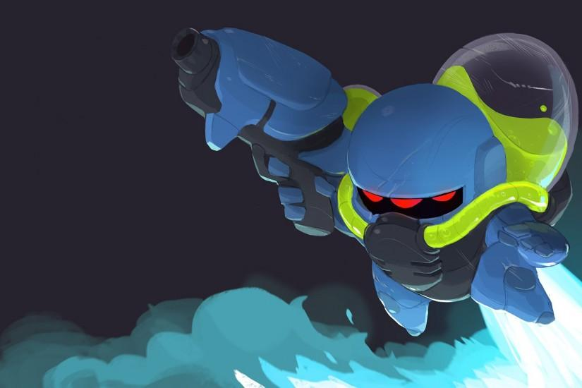 Video Game - Nuclear Throne Lil' Hunter (Nuclear Throne) Wallpaper