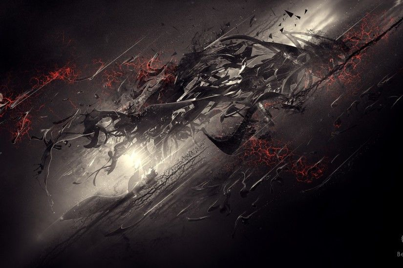 Dark Digital Art Wallpaper Photo