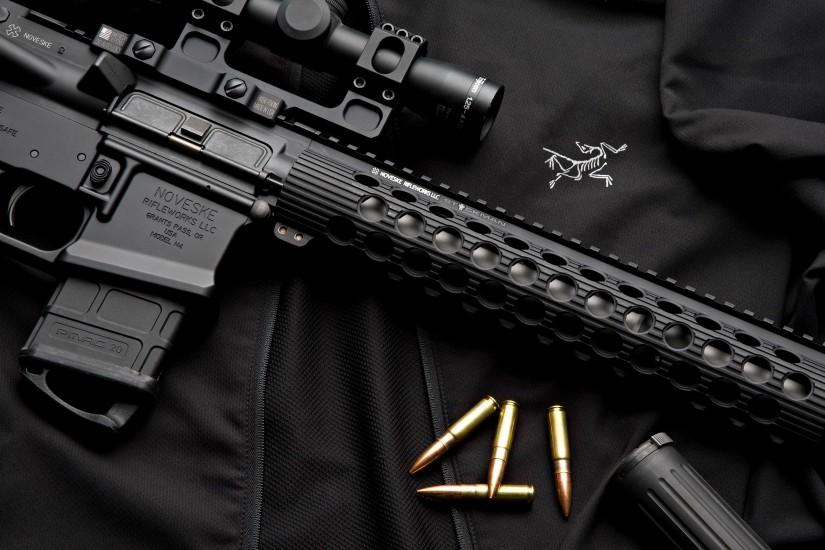 ar 15 gun desktop wallpaper pc android iphone and ipad wallpapers .