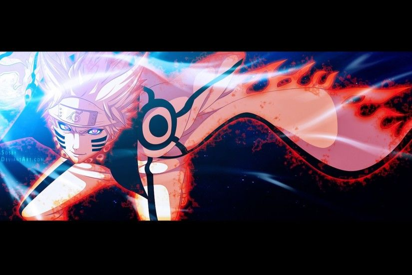 naruto uzumaki kyuubi sage mode hd anime wallpaper 1920x1080
