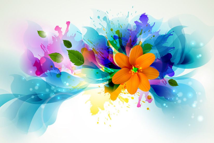 wallpaper.wiki-Colorful-Flower-Widescreen-Background-PIC-WPC005526